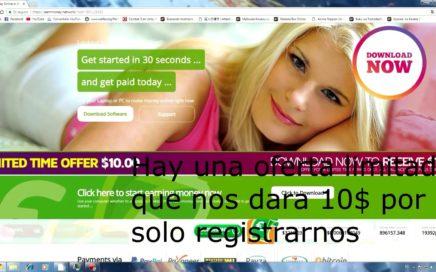 Como Ganar Dinero CON SOLO DEJAR TU PC ENCENDIDA (EarnMoney Network)