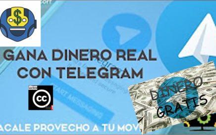 Como Ganar Dinero Con Telegram | Android | Movil | 2017 | BTC