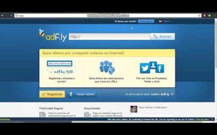 Como ganar dinero con tu blog de google !! Ganar dinero con adfly 2018