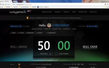 ESTRATEGIA LUCKY GAMES!! GANANDO 12 DOLARES!! -INGRESOS EXTRA- USER LUCKYGAMES: CHRISTIAN29