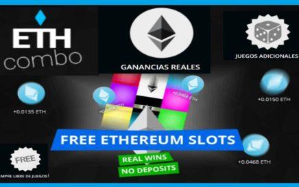ETH COMBO -  GANA $ 65.00 JUGANDO FREE ETHEREUM  FAUCET / NO CAPCHAS