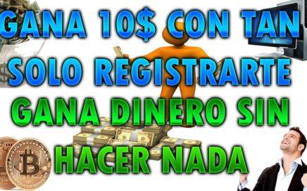 | GANA 10$ DOLARES GRATIS | GANA DINERO SIN HACER NADA |