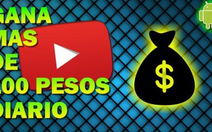 GANA 100 PESOS DIARIO CON ESTA APP!!! (YA NO FUNCIONA)