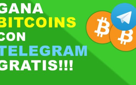 Gana Bitcoins con Telegram | GRATIS