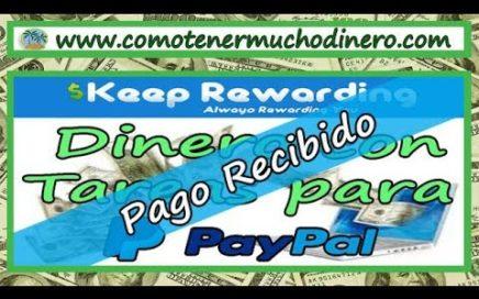 Ganar Dinero Realizando Tareas, Pago Recibido por Paypal | Comotenermuchodinero