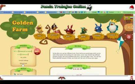 Golden Farm- una excelente pag para generar rublos-  GANA DINERO JUGANDO!!!