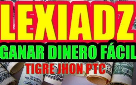 LEXIADZ PTC 2018 TUTORIAL - COMO FUNCIONA? | LEXIADZ ESTRATEGIA PARA GANAR DINERO | LEXIADZ.COM PAGA