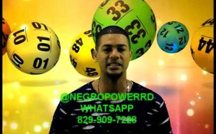 NÚMEROS  PARA HOY 24 Diciembre 2017, El Rompe Banca Negro Power Rd. Ganar dinero dolares