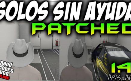 SOLOS SIN AYUDA - TRUCO PARCHEADO - GTAV Online 1.41 - NO HAGAMOS PERDER EL TIEMPO A LA GENTE