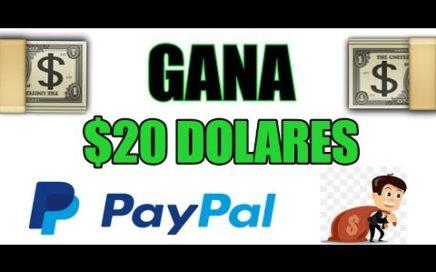 $20 USD A LA SEMANA   COMO GANAR DINERO POR INTERNET / 2018