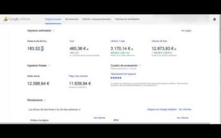 Como ganar dinero desde casa google adsense