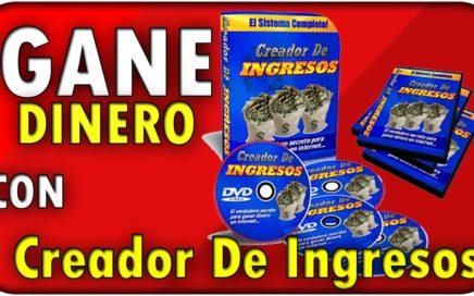 COMO ganar dinero rapido - Creador de Ingresos