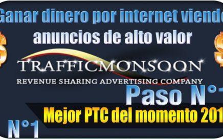 Como Regístrate en Trafficmonsoon  Ganar Dinero Rápido gratis    2016   Paso N°1
