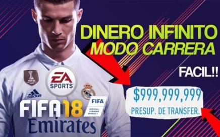 Como tener DINERO INFINITO FIFA 18 MODO CARRERA!!! FACIL PC