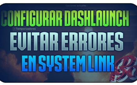 Configurar dashlaunch  para system link, region free arranque de aurora limite de ping
