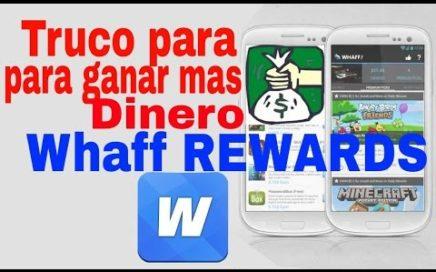 El Mejor truco Para Waff Rewards Ganar Más de 10 Dólares al Día Comprobado