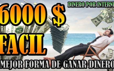 GANA MUCHO DINERO DE FORMA SEGURA, RAPIDA, ESTABLE Y FACIL   MEJOR PAGINA PARA GANAR DINERO