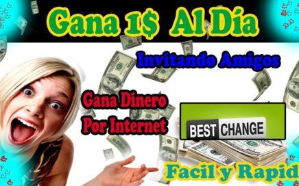 Ganar dinero por Invitar Amigos o Por que visiten la pagina   $0.50 Por Referidos   MarTutoriales