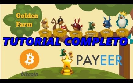 GOLDEN FARM | GANA DINERO REAL Y BITCOIN