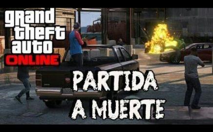 GTA V ONLINE/partida a muerte ganar dinero siempre