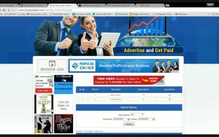 My Paying Ads - Ganar Dinero Online - Oficina Virtual