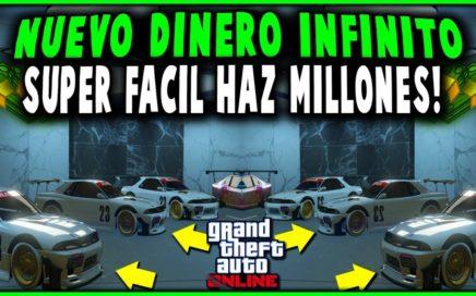 NUEVO TRUCO DINERO INFINITO SUPERFACIL DUPLICAR AUTOS *MASIVO*!!   GTA 5 60.000.000 EN UNA HORA!!