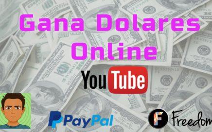 Recibir tu pago de Youtube  por Paypal 2018 - Gana Dolares online 2018