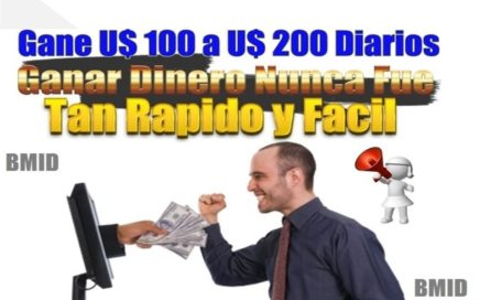 Trabajos desde Casa | Gana 100, 200, 500 Dolares Diarios con BMID