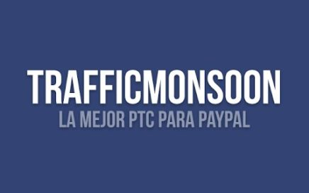Trafficmonsoon la mejor PTC para ganar dinero PayPal