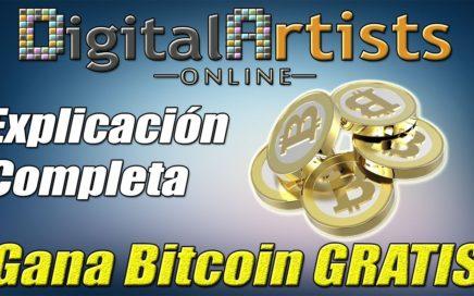 Digital Artists Online Explicación y Truco para Ganar Bitcoins y Conseguir Referidos | Gokustian