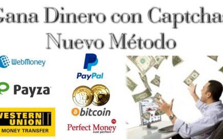 Dinero completando Captchas ! Nuevo método