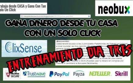 Gana dinero en internet $# 3 Gana Dinero Desde Venezuela CLIXSENSE Y NEOBUX