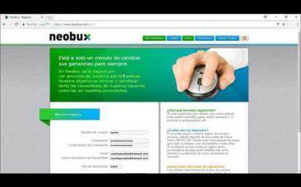 Ganar dinero con Neobux - 2018