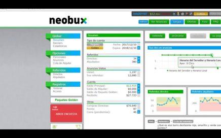 ganar dinero con referidos rentados en Neobux - LuCash
