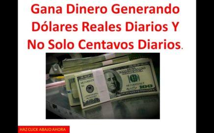 Ganar Dinero Desde Casa | 100 Dolares Al Dia
