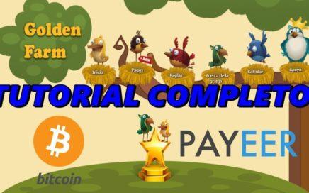 GOLDEN FARM | GANA DINERO REAL Y BITCOIN. 300 MONEDAS GRATIS + 1 PAJARO QUE PRODUCE $$ PARA TI !!
