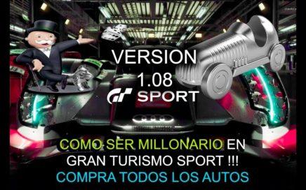 GT Sports - Como Obtener Millones de Créditos En Solo 10 Minutos - Compra Todos Los Autos .