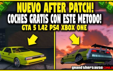 NUEVO! CONSIGUE TODOS LOS AUTOS GRATIS *AFTER PATCH* GTA 5 AUTOS GRATIS FACIL! (PS4 XBOX ONE Y PC)