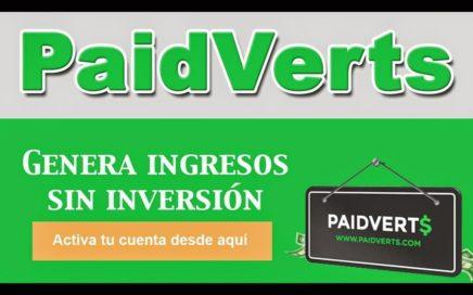 PaidVerts   Gana Dinero Gratis Por Ver Anuncios De Publicidad