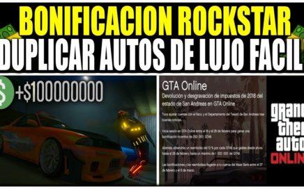ROCKSTAR DEVUELVE EL 10% POR CADA GTA$ GASTADO! GTA 5 DINERO INFINITO FUNCIONANDO! (PS4 Y XBOX)
