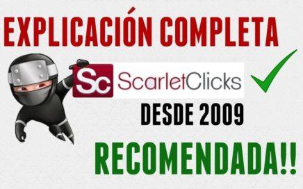 Scarlets Clicks   Gana Dinero Gratis Por Ver Anuncios De Publicidad