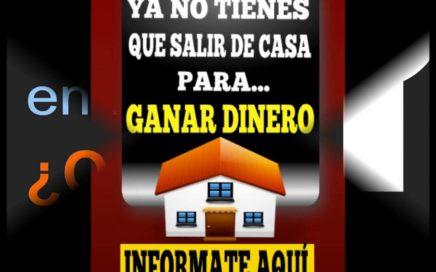 Te Gustaria ganar dinero desde la comodidad de tu casa????