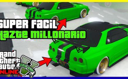 """APURATE!! HAZTE MILLONARIO CON ESTE NUEVO TRUCO DE """"GTA V ONLINE"""" MUY FACIL"""
