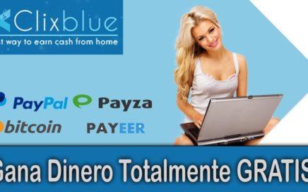 ClixBlue   Gana Dinero Gratis Por Ver Anuncios De Publicidad