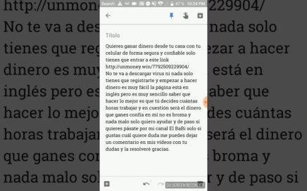 COMO GANAR DINERO DESDE TU CASA DE FORMA SEGURA Y REAL ES VERDAD CONFIEN EN ESTE VIDEO!!