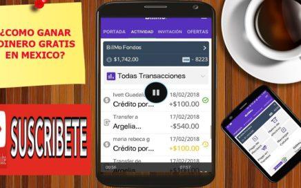Como Ganar Dinero Gratis Con BillMo 2018, Retirar $1740 Pesos de la Aplicacion BillMO