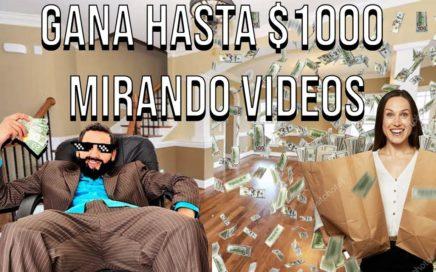 COMO GANAR DINERO MIRANDO VÍDEOS (SORTEO $25)