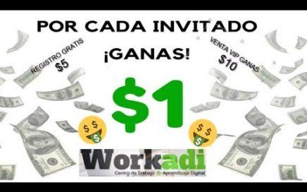 Como ganar dinero por Internet ||  WORKADI - Estrategia de Ganancias