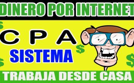 CPA Bien REMUNERADA Forma de GANAR DINERO POR INTERNET ¡Mira cómo!