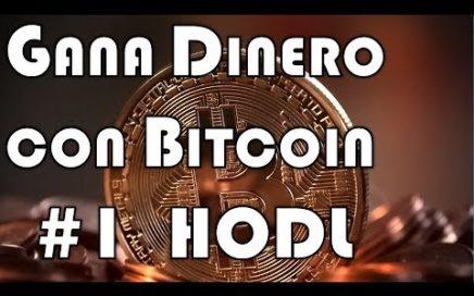 Crypto Consejos | Como Ganar Dinero con Bitcoin #1 | HODL